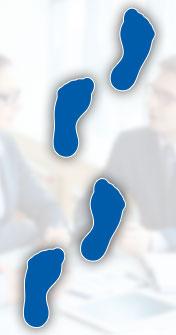 Unser Outplacement Prozess besteht aus 4 Schritten: Vor dem Programmstart, Erstgespräch, Coachingphase, Jobcoaching.